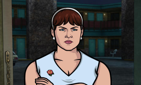 Allison Tolman on Archer