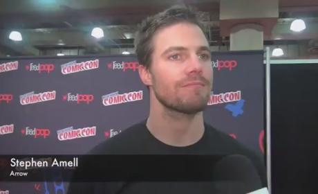 Stephen Amell Comic-Con Interview