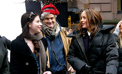 Leighton Meester Gets a Surprise Visitor