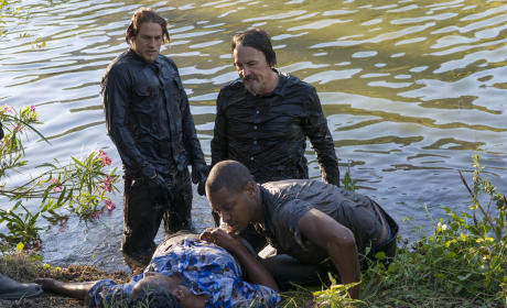Sons of Anarchy Photo Preview: Wet Leather