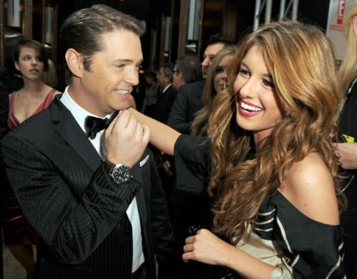 Jason Priestley and Shenae Grimes