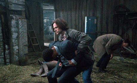 Sam Attacks - Supernatural Season 10 Episode 20