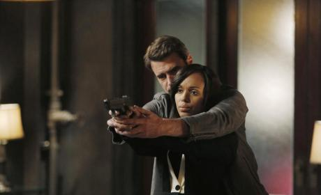 Preparing for the Kill Shot - Scandal Season 4 Episode 9
