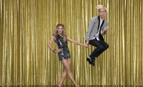 Riker Lynch and Allison Holker - Dancing With the Stars