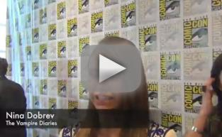 Nina Dobrev Comic-Con Q&A