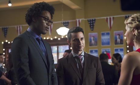 Curtis and Friend - Arrow Season 4 Episode 9