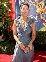 Sandra Oh at the Emmys