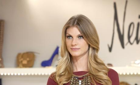 Angela Lindvall on the Season Finale
