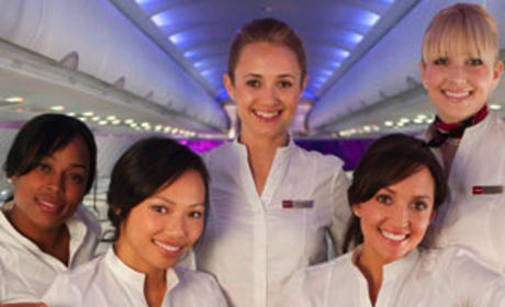 Fly Girls Bring Sexy Back ... to Air Travel