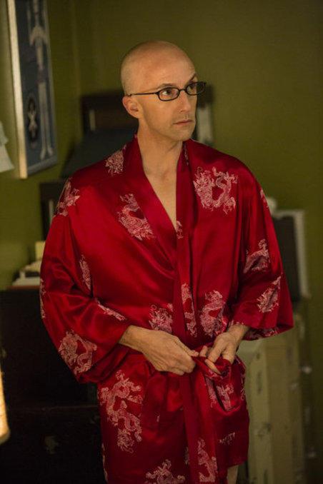 Dean in a Kimono