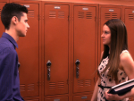 Ben & Amy At the Lockers