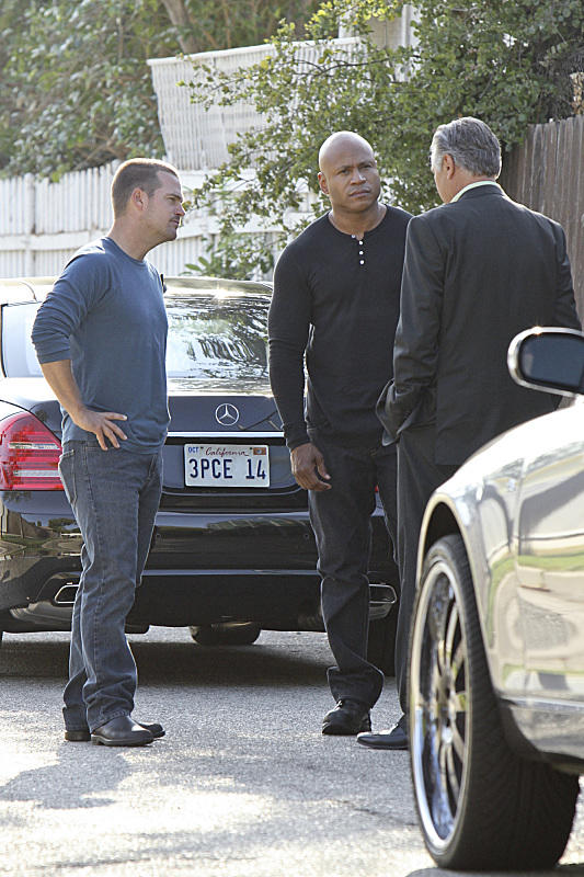 Callen and Sam in Action