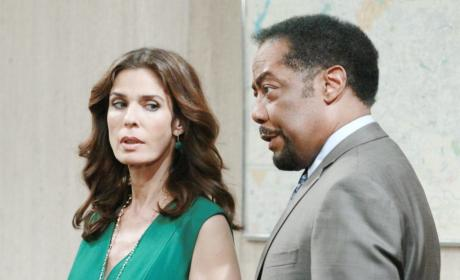 Hope and Abe - Days of Our Lives