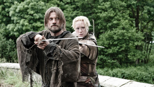 Jaime and brienne game of thrones