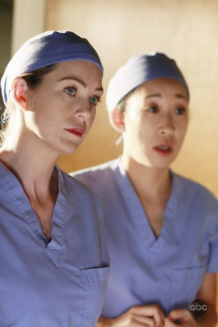 Meredith and Cristina Picture