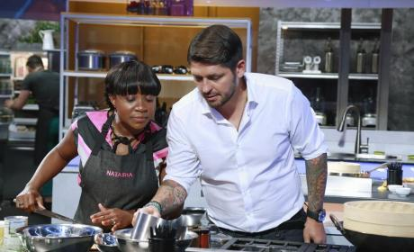 Ludo Lefebvre Mentors Natasha - The Taste Season 3 Episode 2