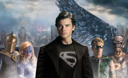 "Smallville Poster, Trailer for ""Absolute Justice"""
