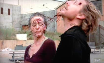 9 Shocking Killings on The Walking Dead: Splat! Bang! Whoa!