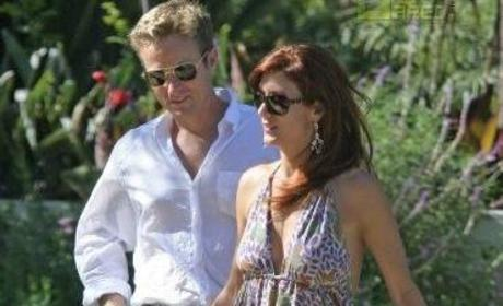 Kate Walsh, Fiance Attend Engagement Party