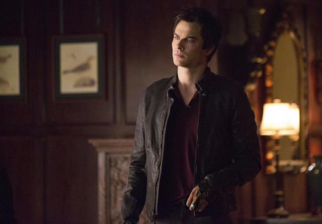 Iam Somerhalder as Damon Salvatore