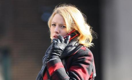 Blake Lively Gets Back to Work