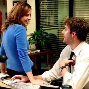 Jim Halpert and Pam Beesly