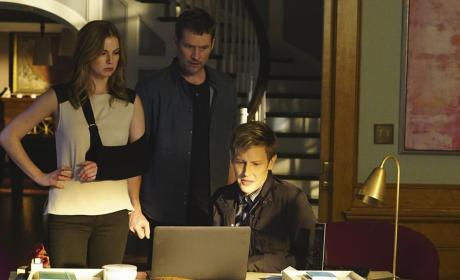 David, Emily, and Nolan - Revenge Season 4 Episode 11