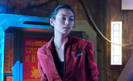 Florence Faivre as Julie Mao - The Expanse