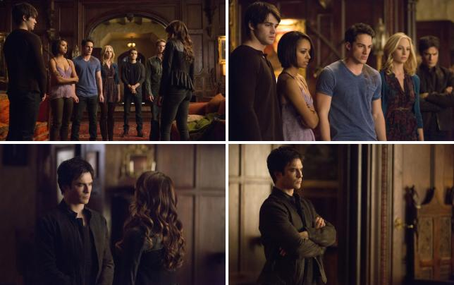 The vampire diaries gang
