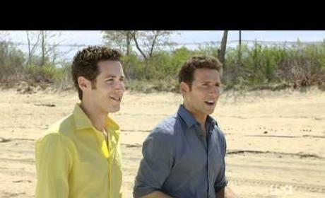 Royal Pains Clip - On the Beach