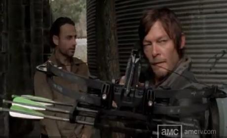 The Walking Dead Clip: A Dangerous Mission