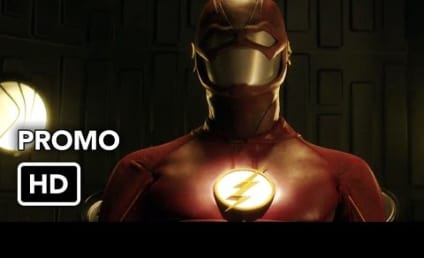 The Flash Promo: Just a Human Being Again