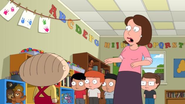 Ahhh! Stewie!