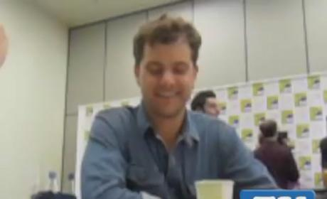 Joshua Jackson at Comic Con