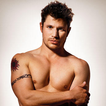 Nick Lachey Shirtless