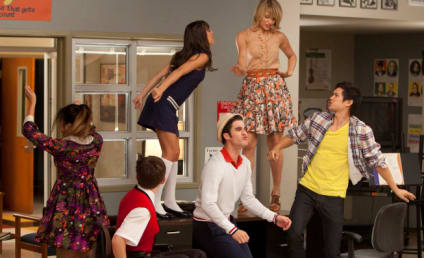 Glee Sneak Peeks: Covering Katy, Meeting Rory