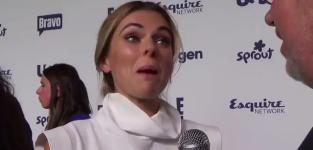 Serinda Swan Upfront Interview