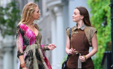 Gossip Girl Set Pics: Rainy in NYC