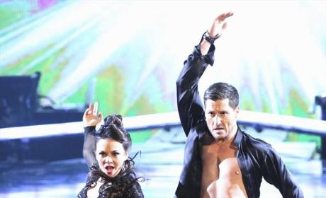 Janel and Val's Paso Doble - Dancing With the Stars