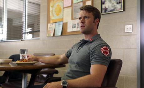 Casey At The Firehouse - Chicago Fire Season 5 Episode 1