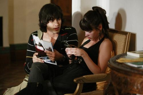 Navid and Adrianna