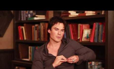 Ian Somerhalder Discusses The Vampire Diaries Season 8