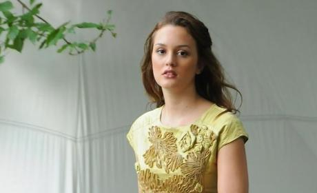 Leighton Back on the Set