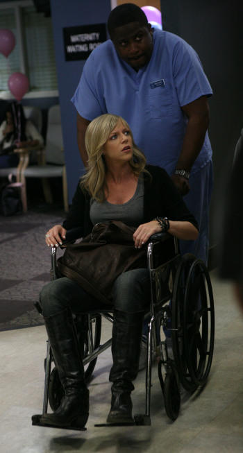 Dee in the Hospital