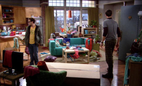 Sheldon and Leonard are Shocked