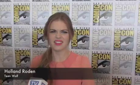 Holland Roden Comic-Con Interview