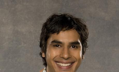 Kunal Nayyar as Raj Koothrappali  - The Big Bang Theory