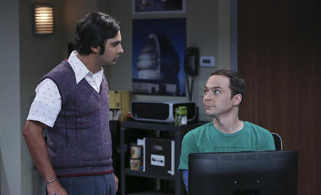 Sheldon Collaborates - The Big Bang Theory