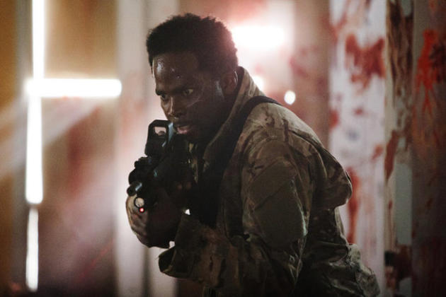 Harold Perrineau as Mark Hammond on Z Nation