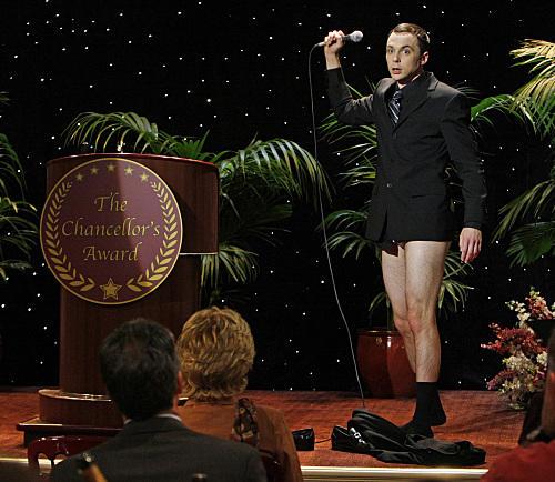 Sheldon Cooper, No Pants